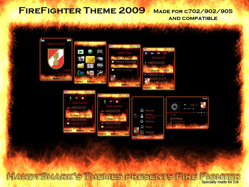 Es gibt zustzlich zum Theme noch eine Screensaver SWF 800x600