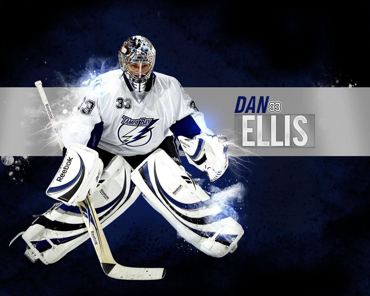 NHL Wallpapers   Dan Ellis Tampa Bay Lightning wallpaper 1280x1024
