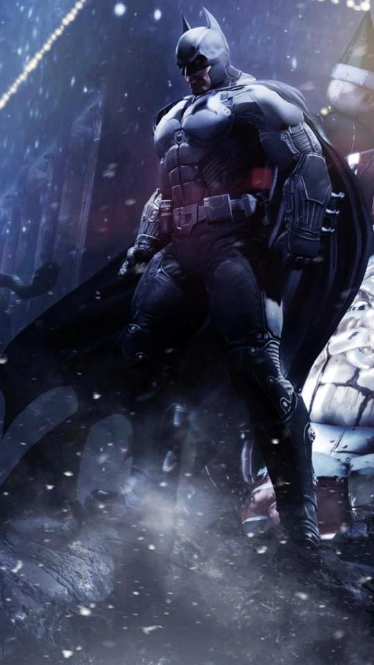 Batman Arkham Origins Batman Wallpaper   iPhone Wallpapers 540x960