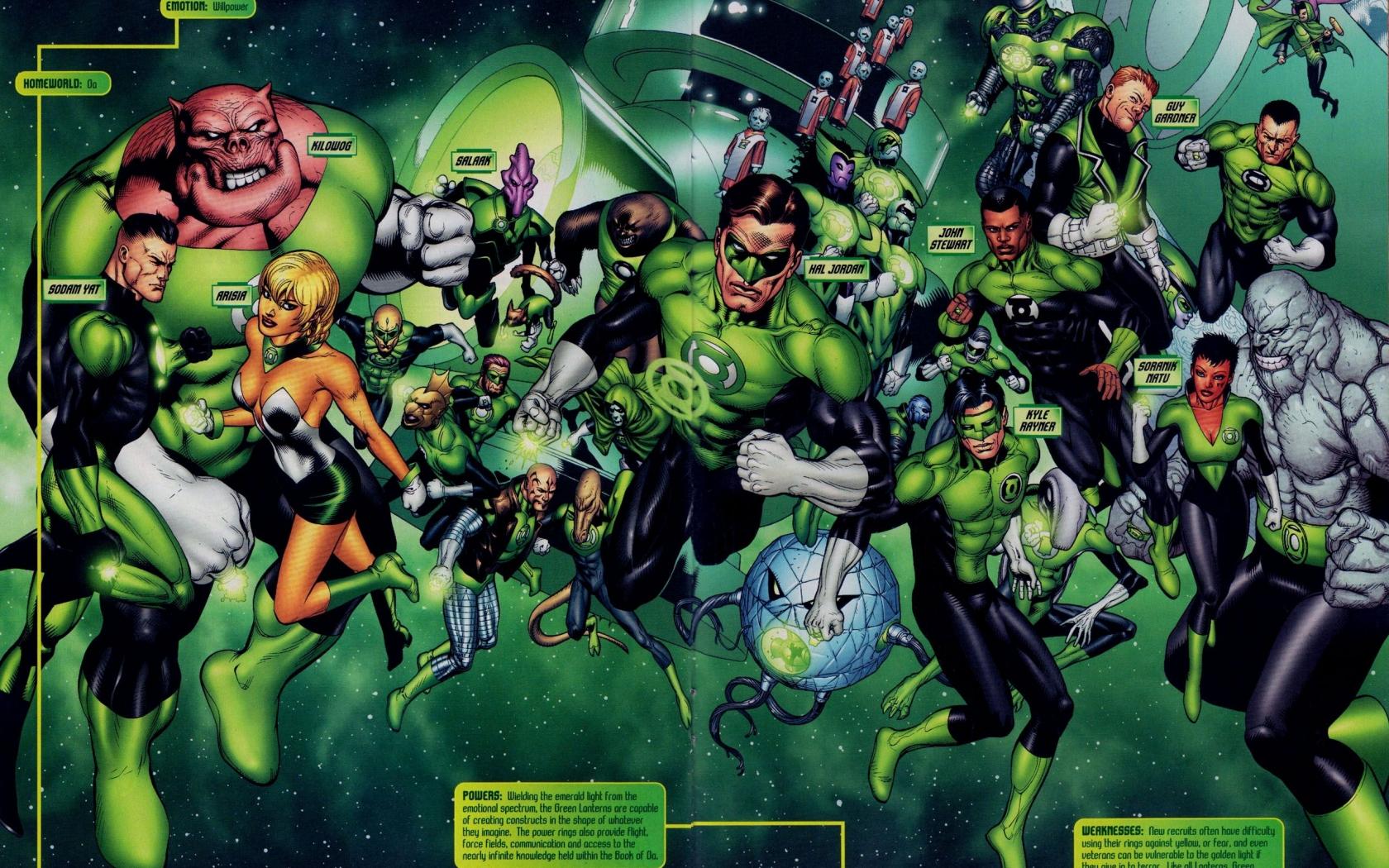 download Green Lantern Corps Wallpapers Top Green Lantern 1680x1050