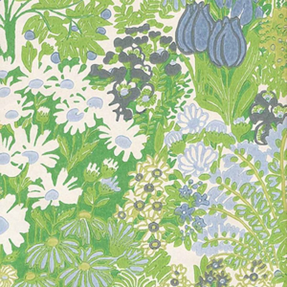 Free Download Vintage Original Iconic Floral Wallpaper 1970s 1960s