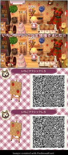 japanese animal crossing qr codes wallpaper