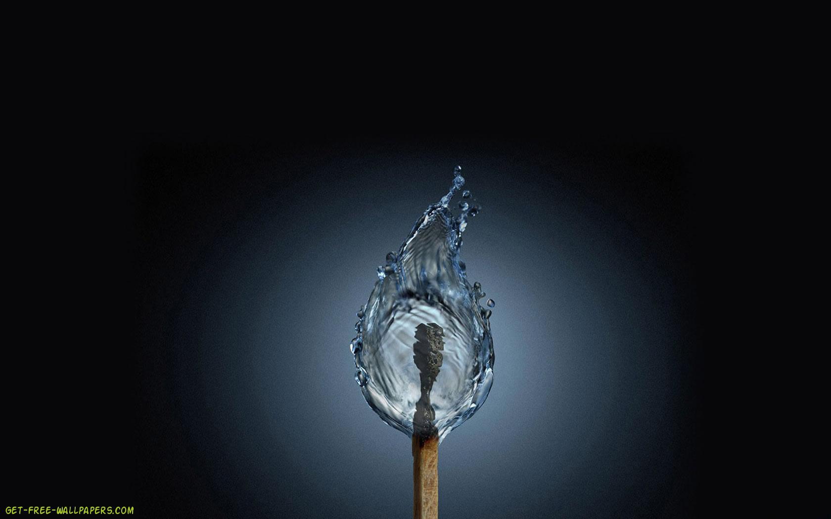 water flame wallpaper wallpapersafari
