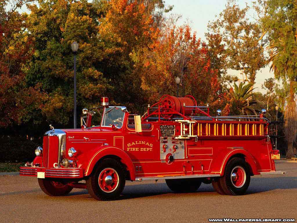 Fire Truck Wallpapers 1024x768