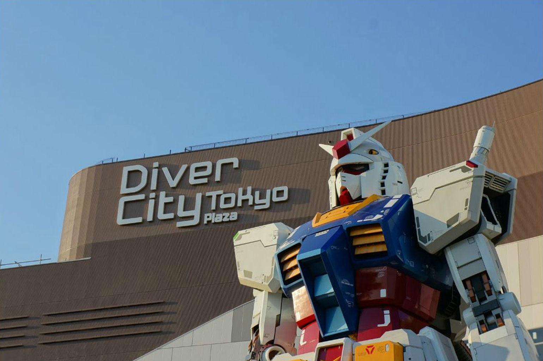 11 Life Size Gundam Statue Diver City Tokyo Odaiba No12 1540x1024