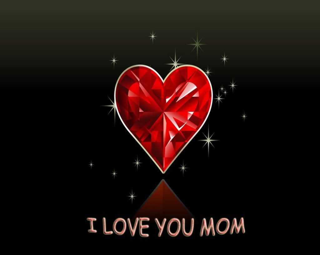 Wallpaper I Love You To : I Love You Mom Wallpaper - WallpaperSafari