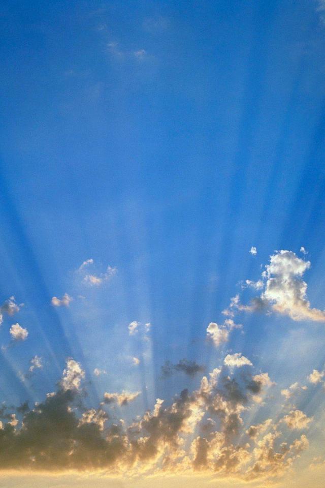 wallpaper iPhone Golden Sunset prcdent 640x960