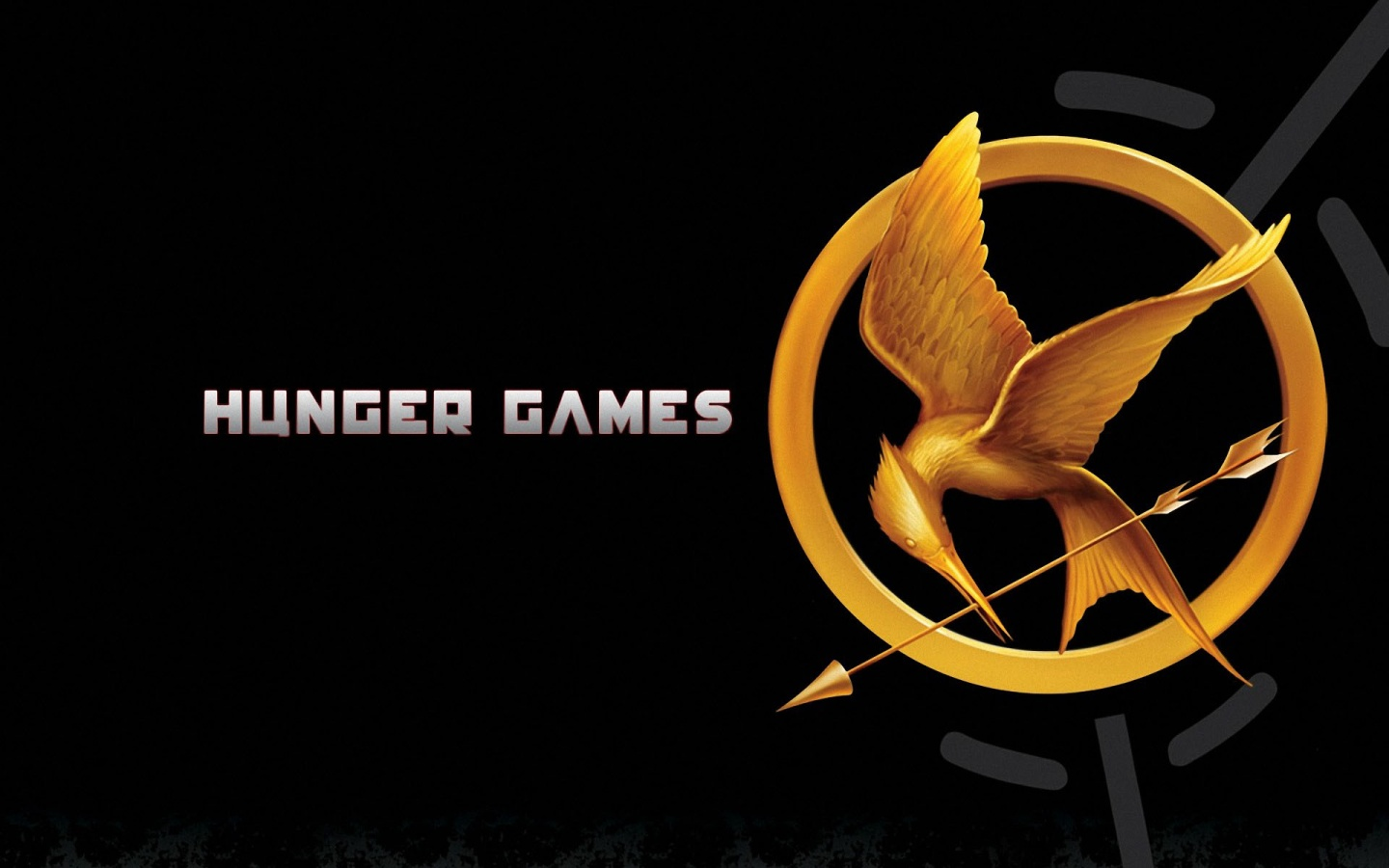 1440x900 The Hunger Games Poster desktop PC and Mac wallpaper 1440x900