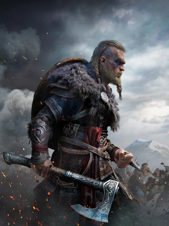 Assassins Creed Valhalla Poster Wallpaper HD Games 4K Wallpapers 4499x6000