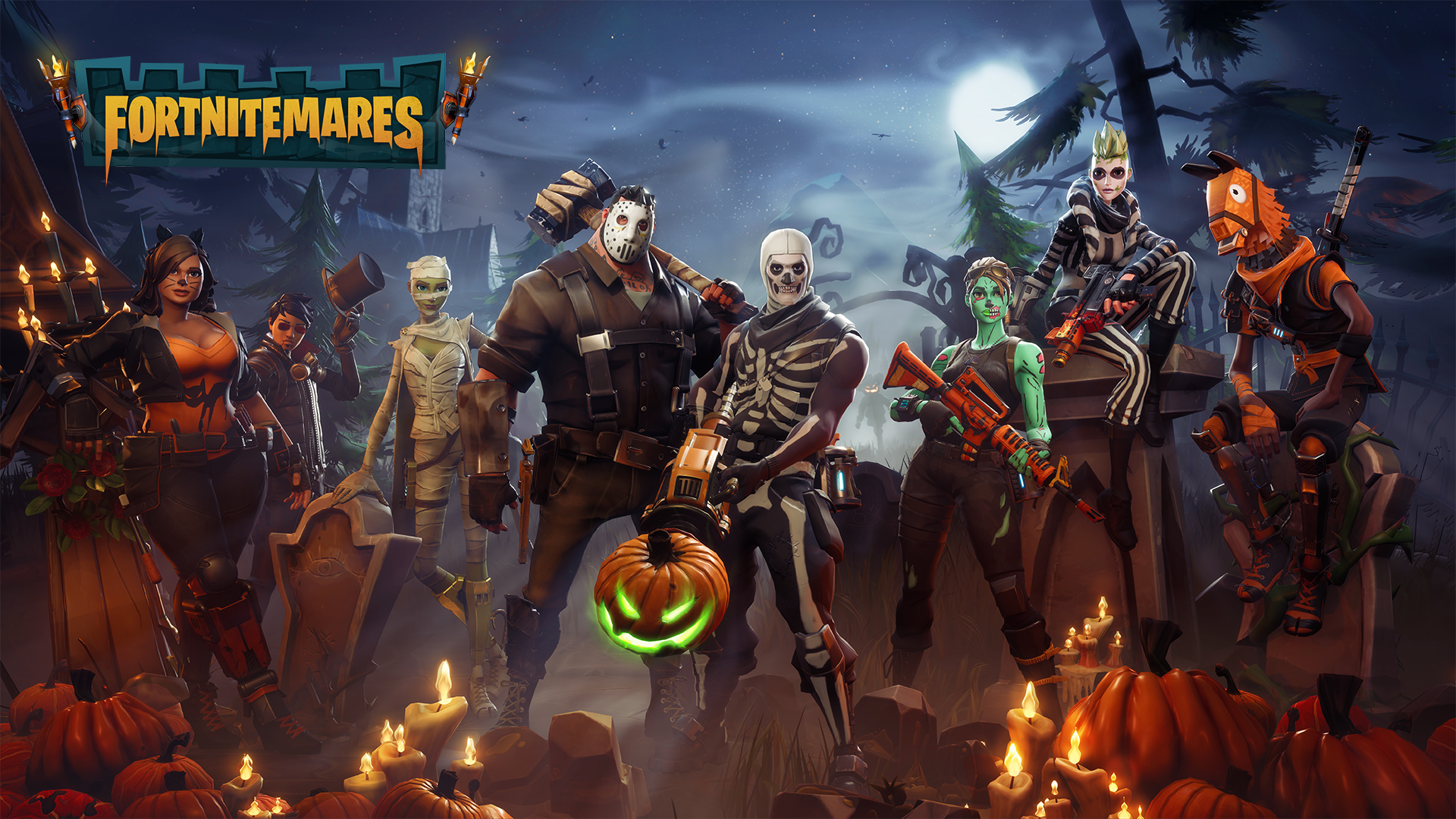 Fortnite Gets Spooky with Fortnitemares Update   n3rdabl3 1920x1080