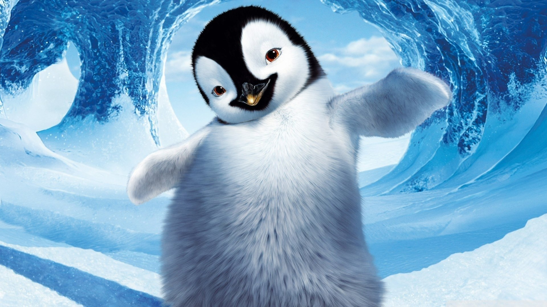 11 Happy Feet HD Wallpapers Background Images 1920x1080