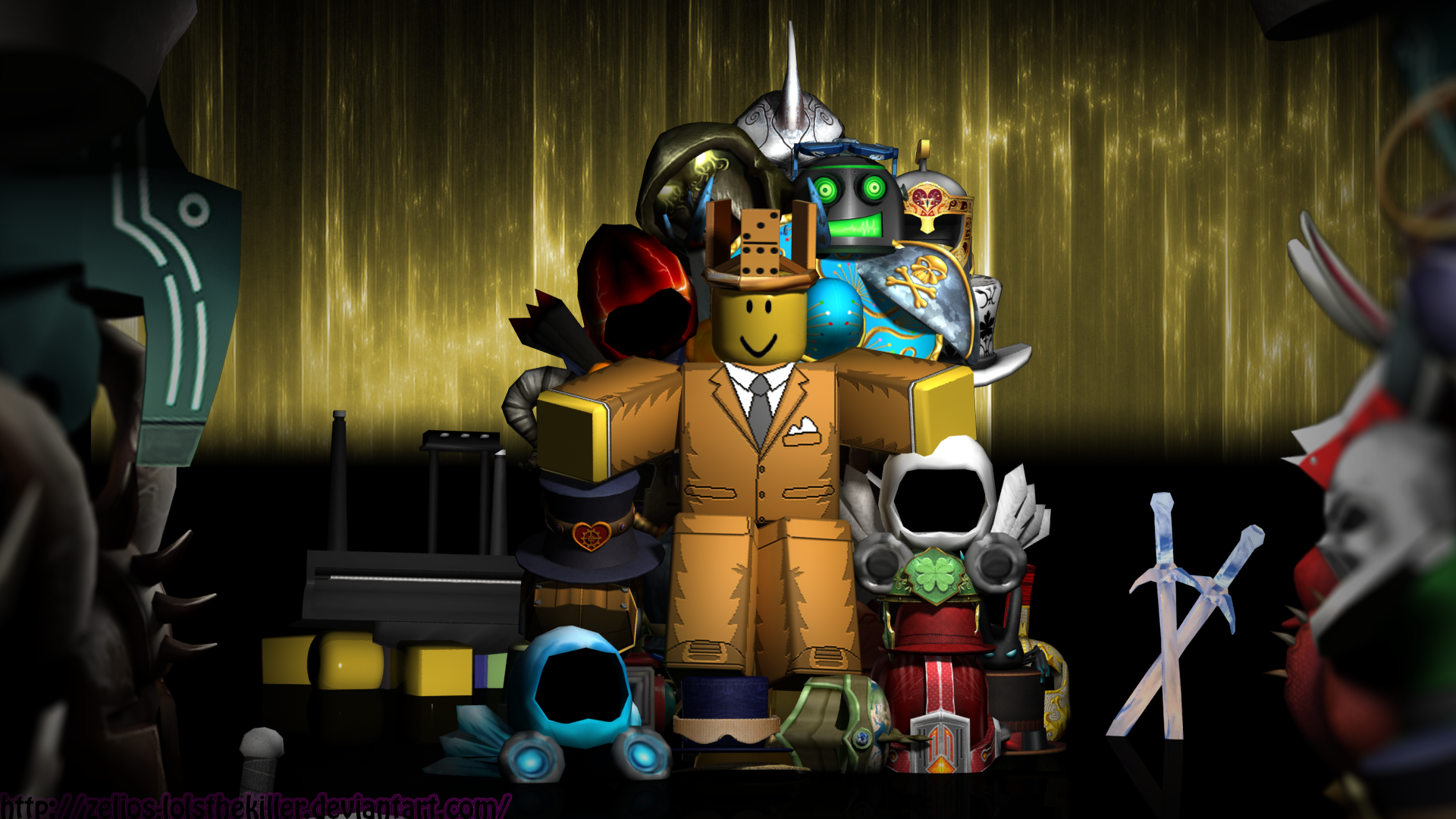 Roblox Wallpaper 2014 A background of my roblox 1920x1080
