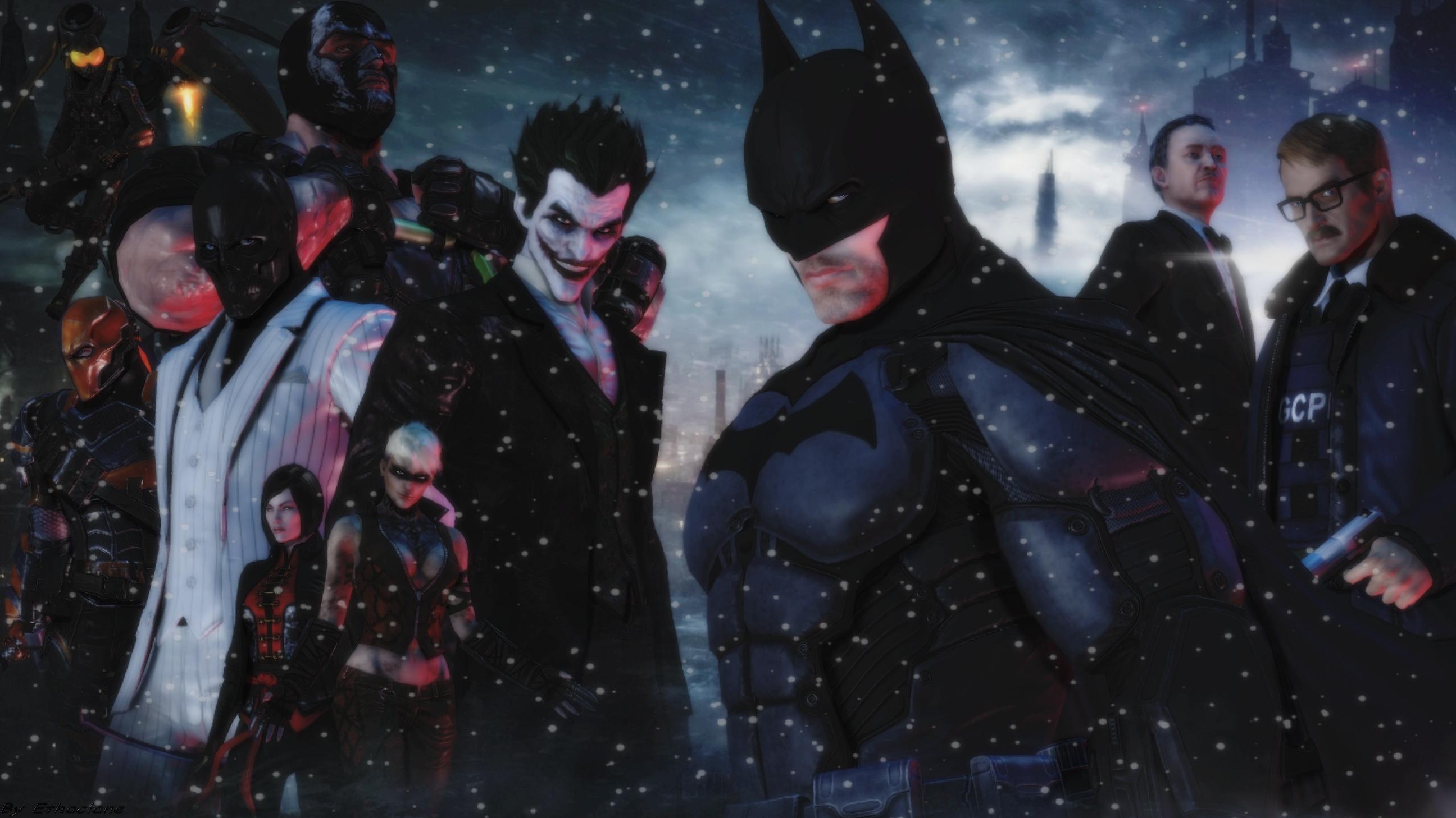 Batman Arkham origins wallpaper by ethaclane 2592x1458