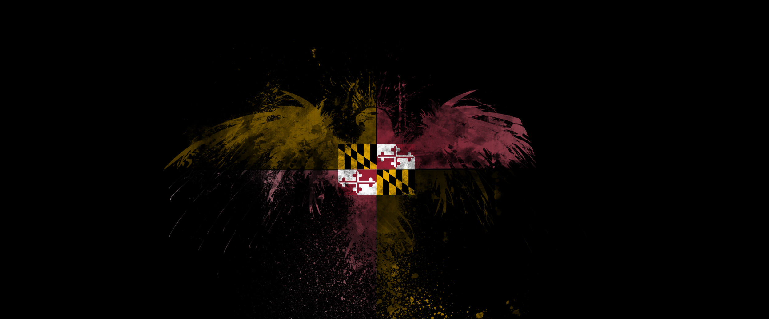 maryland flag hey anon does this work high HD Wallpaper   General 2500x1038