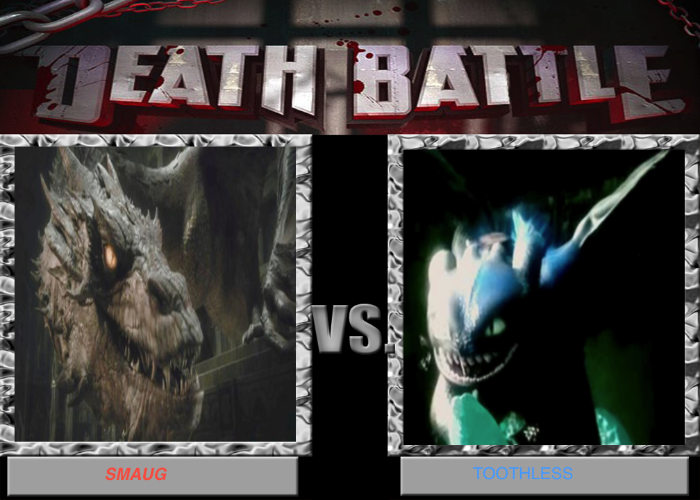 Alpha Toothless Wallpaper Smaug vs toothless by leahk90 1008x720