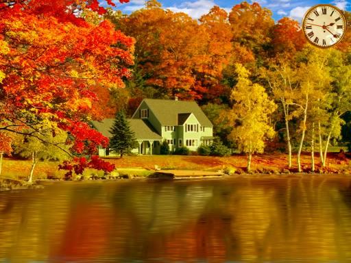 Free Fall Screensaver 3D Gorgeous Fall Foliage IWjpg 512x384