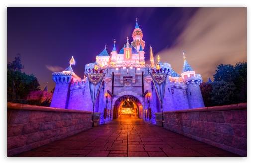 Sleeping Beauty Castle Disneyland HD wallpaper for Standard 43 54 510x330