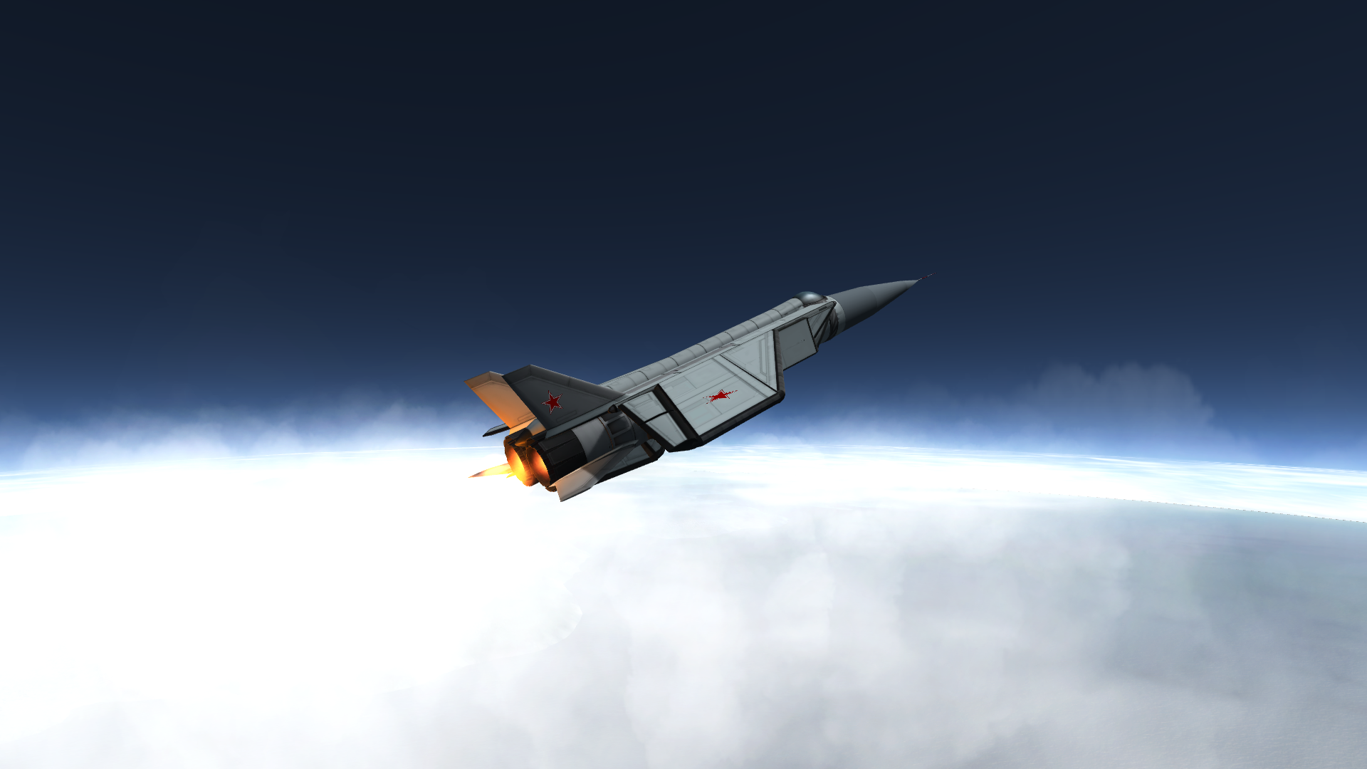 Mikoyan Gurevich MiG 25 Updated to 112   The Spacecraft 1920x1080