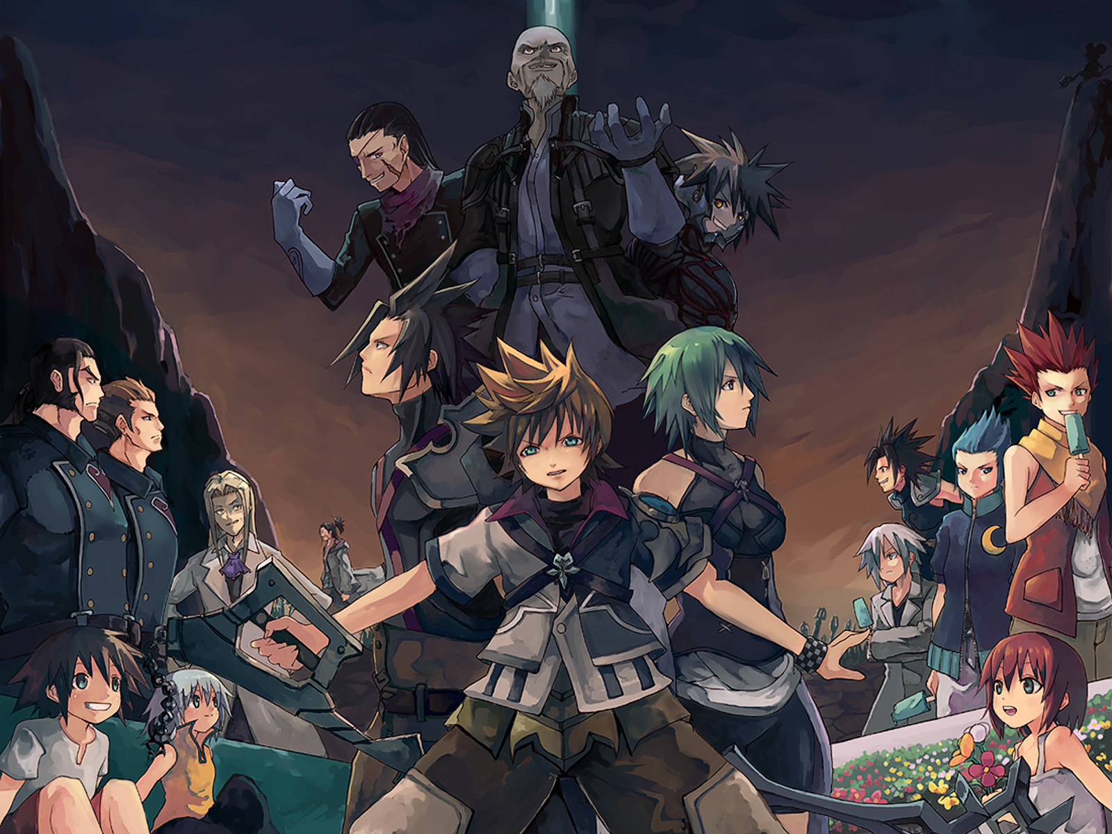 kingdom hearts games cool wallpapers kingdom hearts high definition 1600x1200