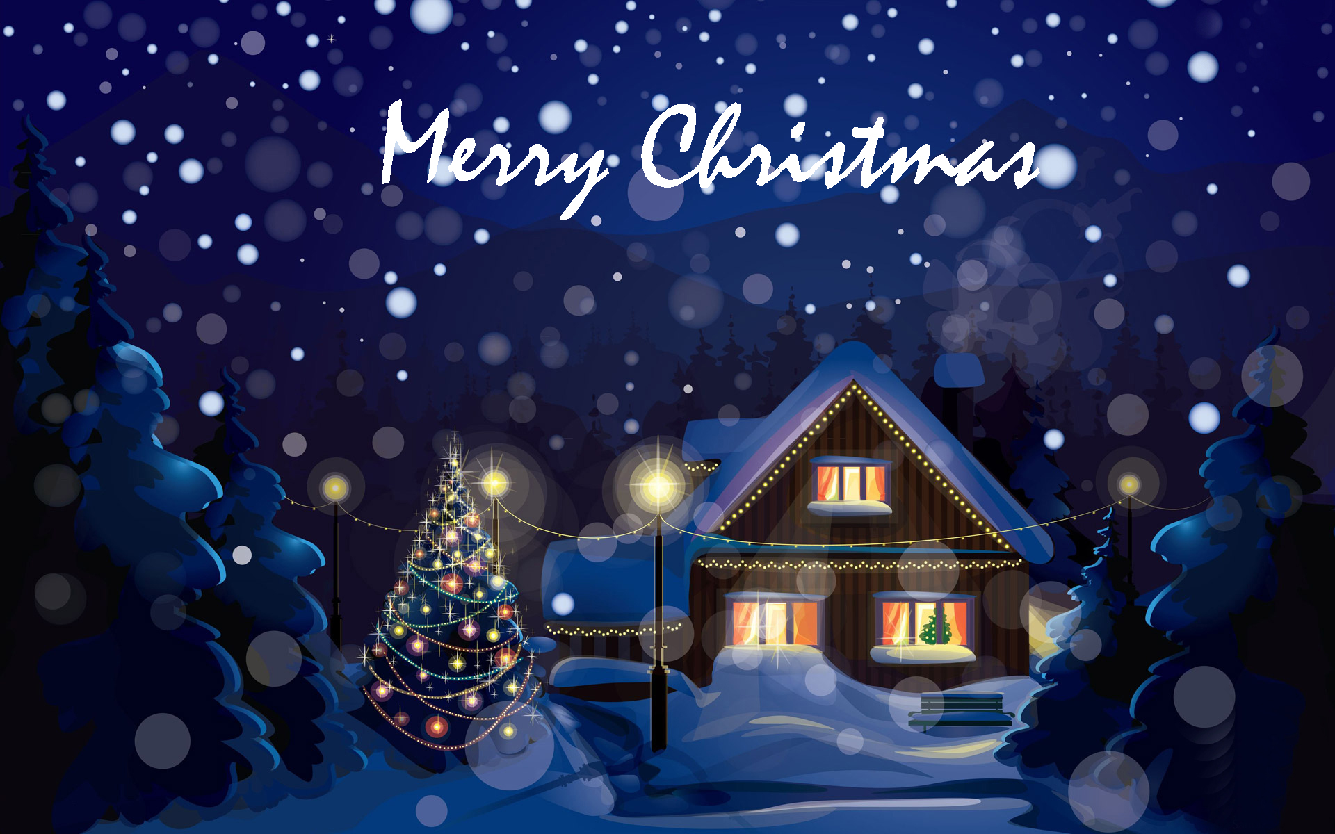 Free Download Merry Christmas Wallpapers Hd Download