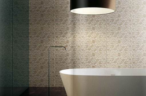 Space of Bathroom Design Contemporary Bathroom Wallpaper Designs 510x335
