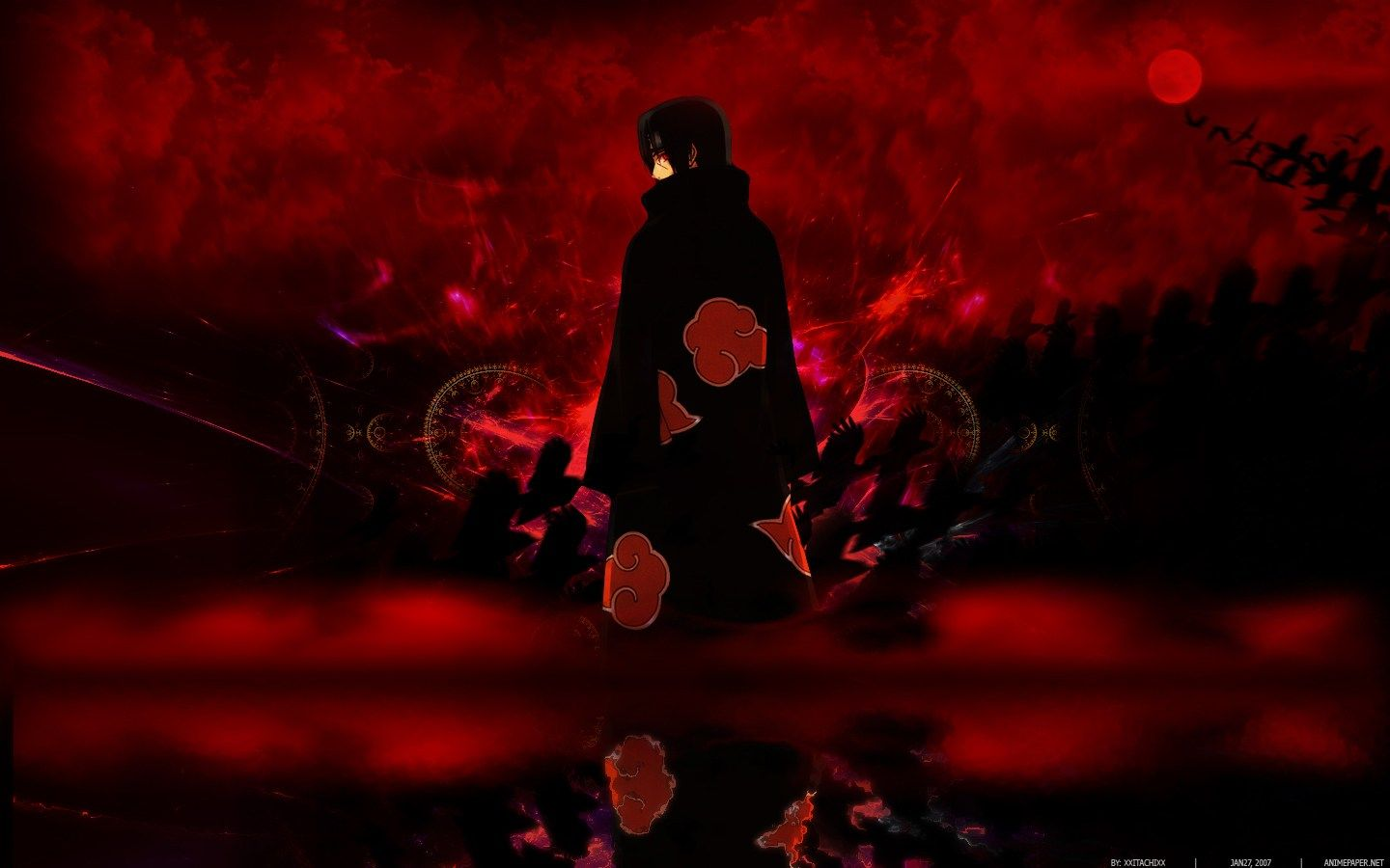 DARK Itachi uchiha wallpaper 4k Collection com imagens Arte 1440x900