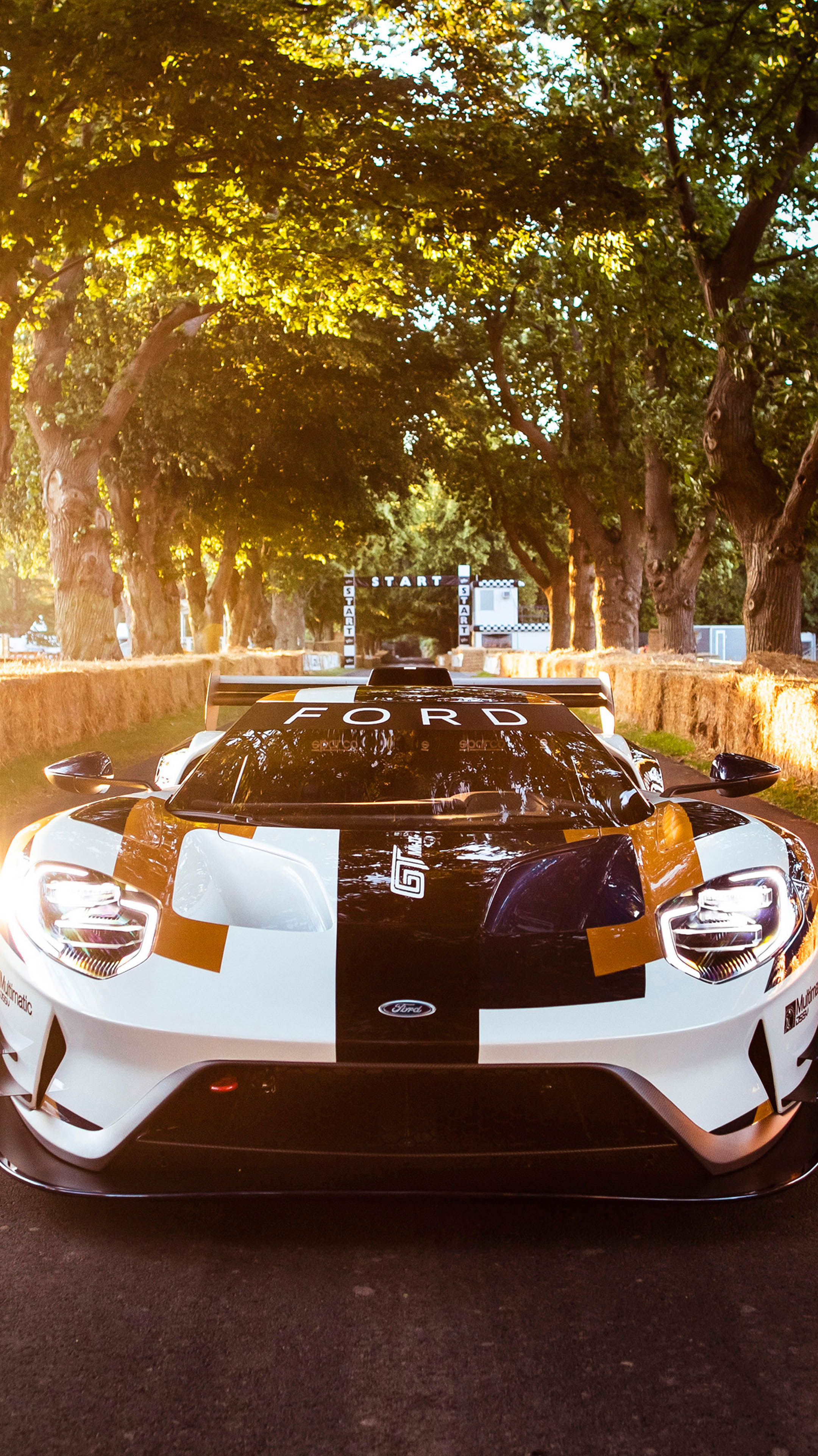 Download Ford GT MK II 2019 Pure 4K Ultra HD Mobile Wallpaper 2160x3840
