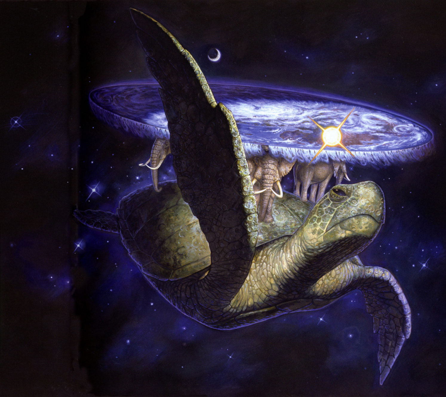Atuin the Star Turtle d20 NPC Wiki FANDOM powered by Wikia 1494x1330