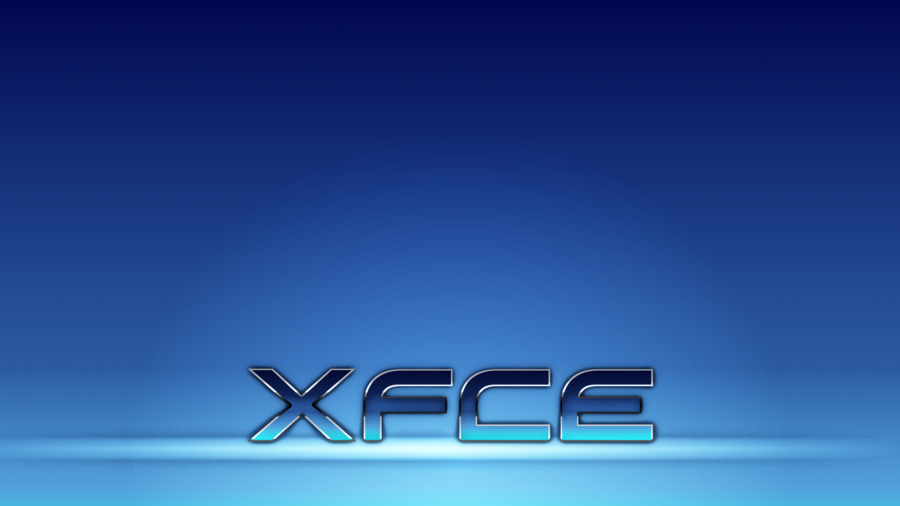 XFCE Blue Metallic Wallpaper by DefectiveDre 900x506