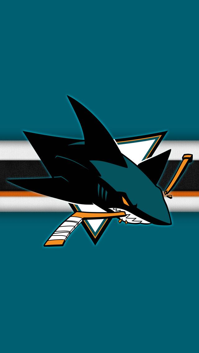 SJ Sharks iPhone Wallpaper 640x1136