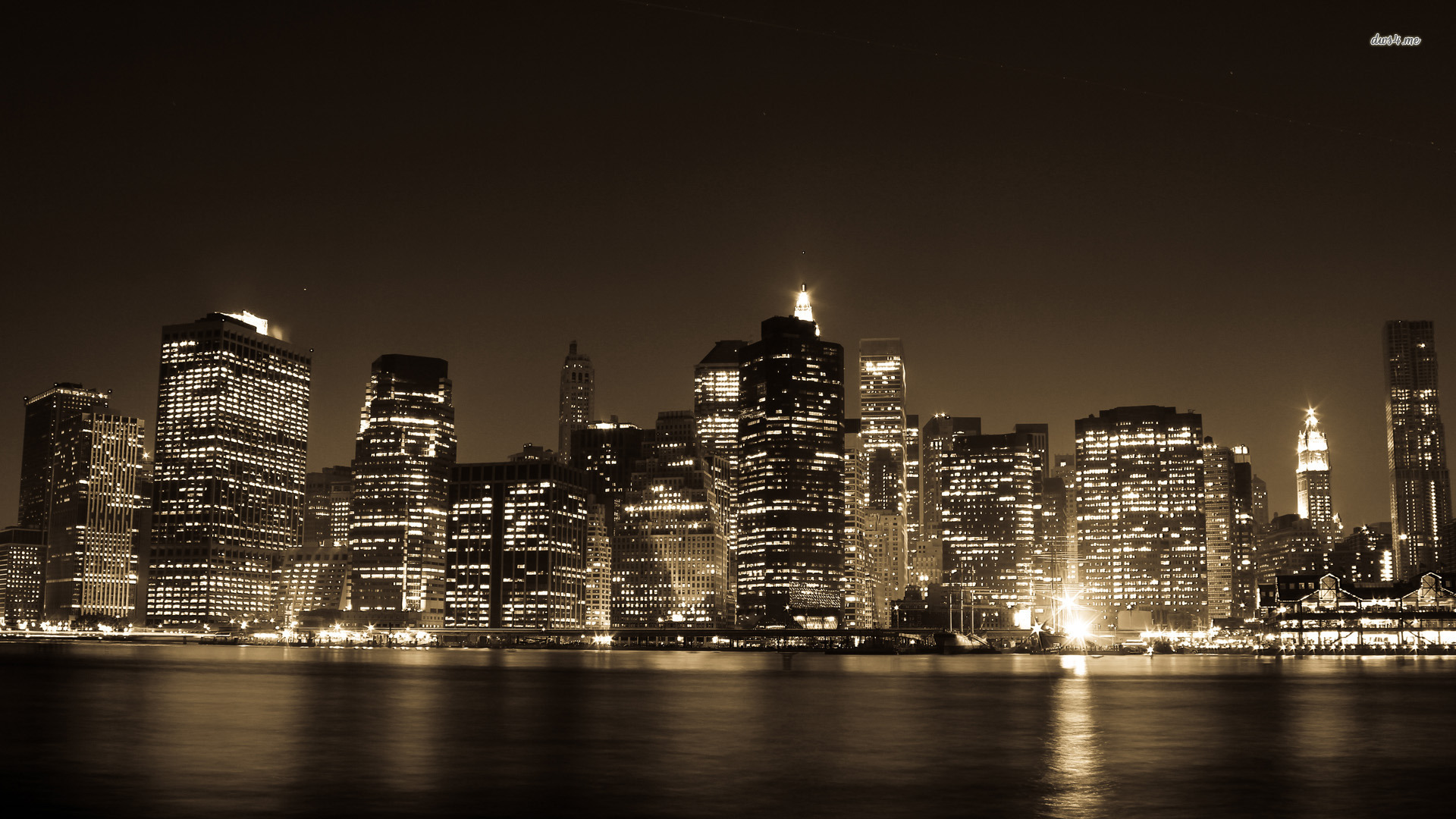Desktop Backgrounds City Lights Desktop Image 1920x1080