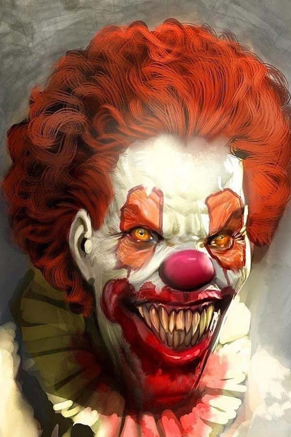 Scary Clown HD Wallpaper   screenshot 600x900