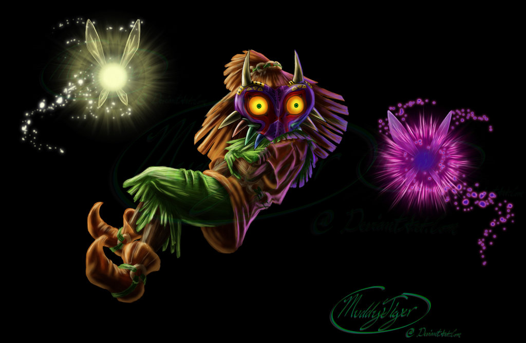Skull Kid Game Wallpaper Mixed HD Game Wallpapers 1024x668
