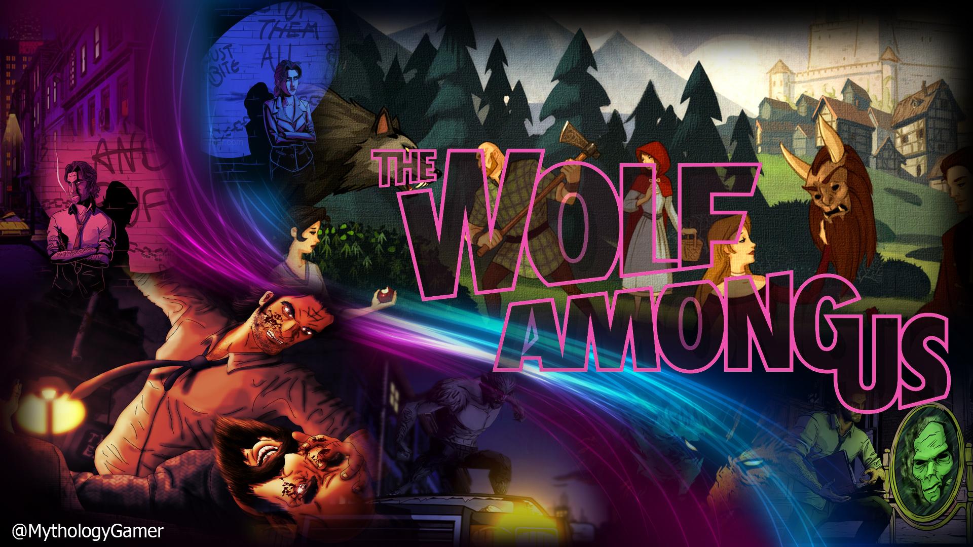 The Wolf Among Wallpapers Mythology Gaming 1920x1080