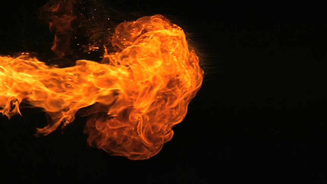 Slow Motion Fire HD Motion Background 1280x720