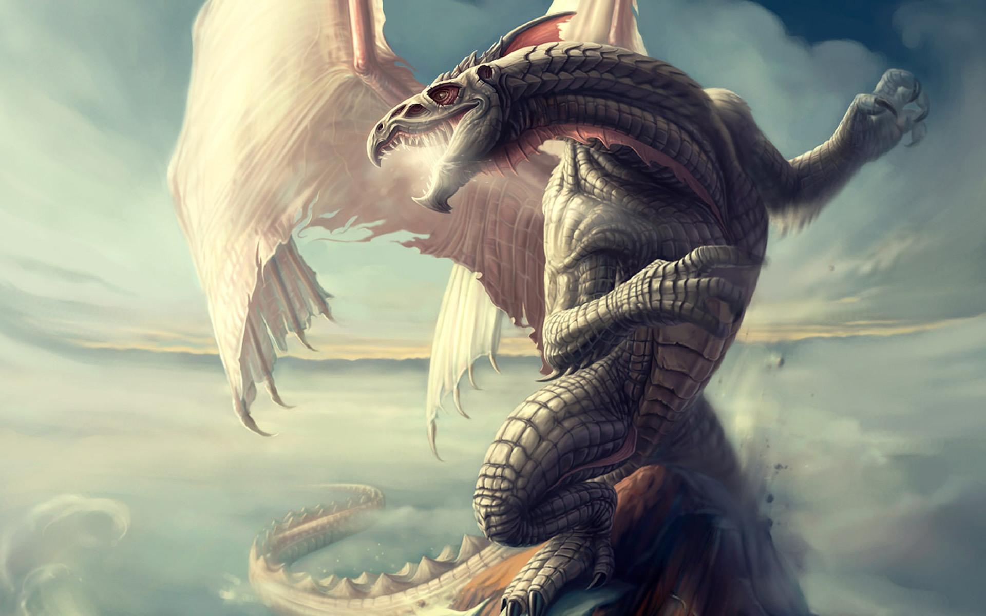 Mammoth Dragon desktop wallpaper 1920x1200