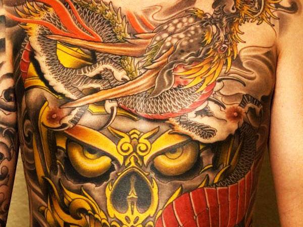Japanese Tattoo Art Wallpaper Best Tattoos Design 600x450