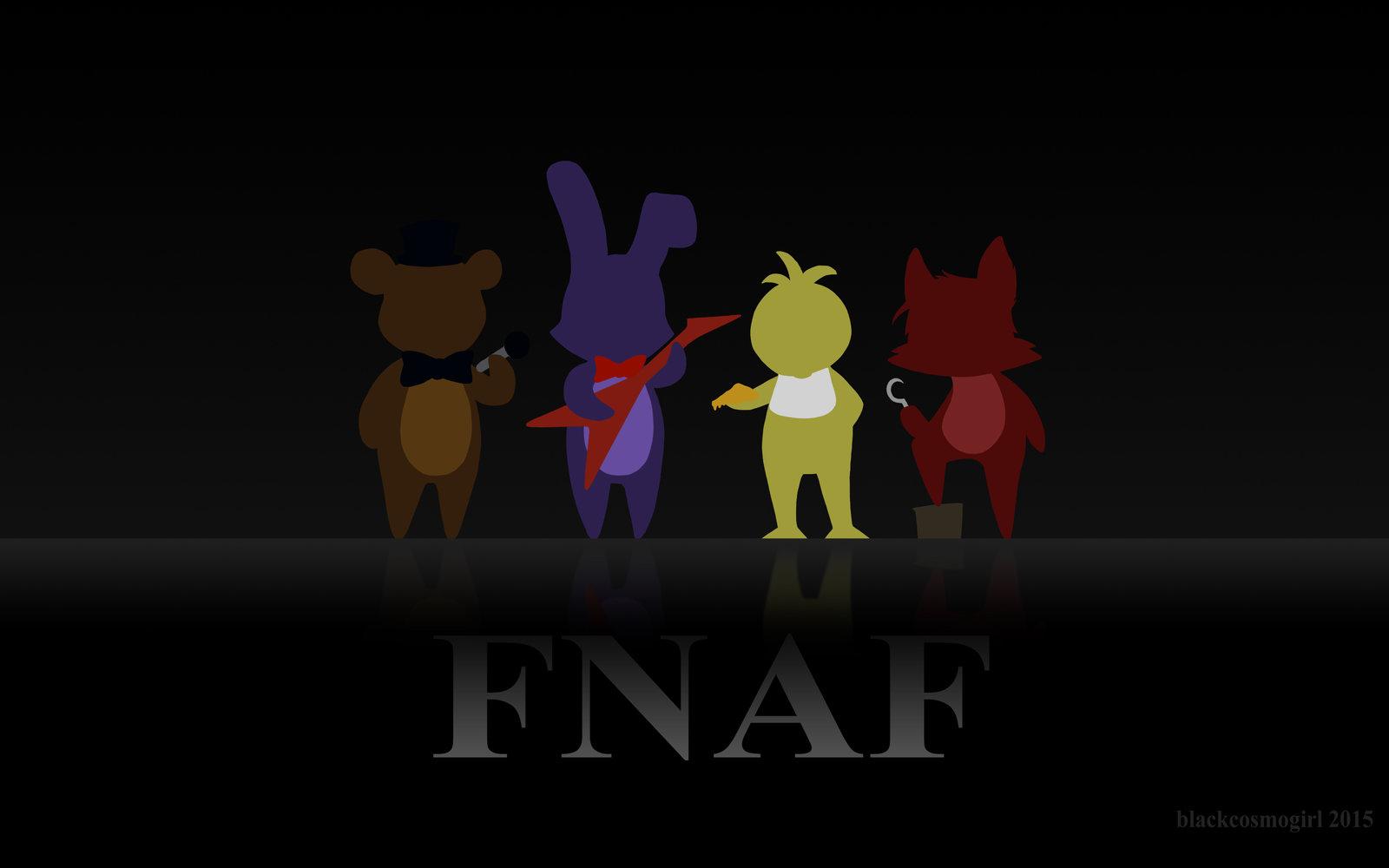 FNAF wallpaper 1680 x 1050 by blackcosmogirl 1600x1000