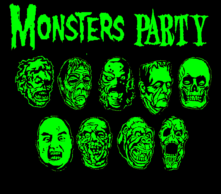 Universal Monsters Wallpaper The universal monster party by 744x655
