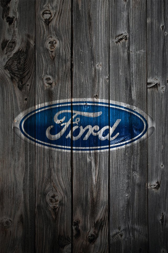Built Ford Tough Logo >> Ford iPhone Wallpaper - WallpaperSafari