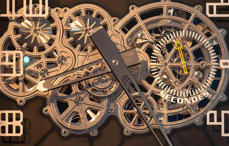 Wallpaper arrows watch mechanism Switzerland dial TALISMAN 1332x850