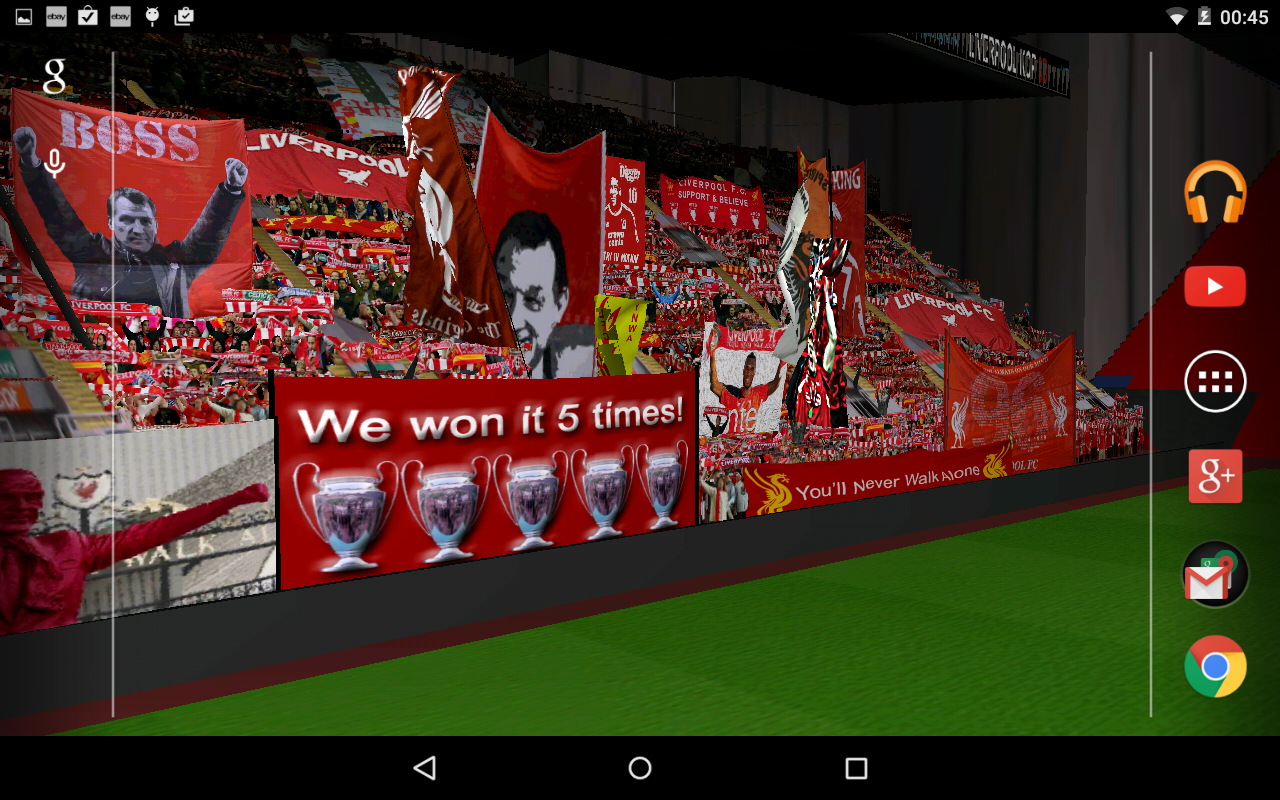 Liverpool Kop 3D LWP FREE 10 APK Download   Android Lifestyle 1280x800
