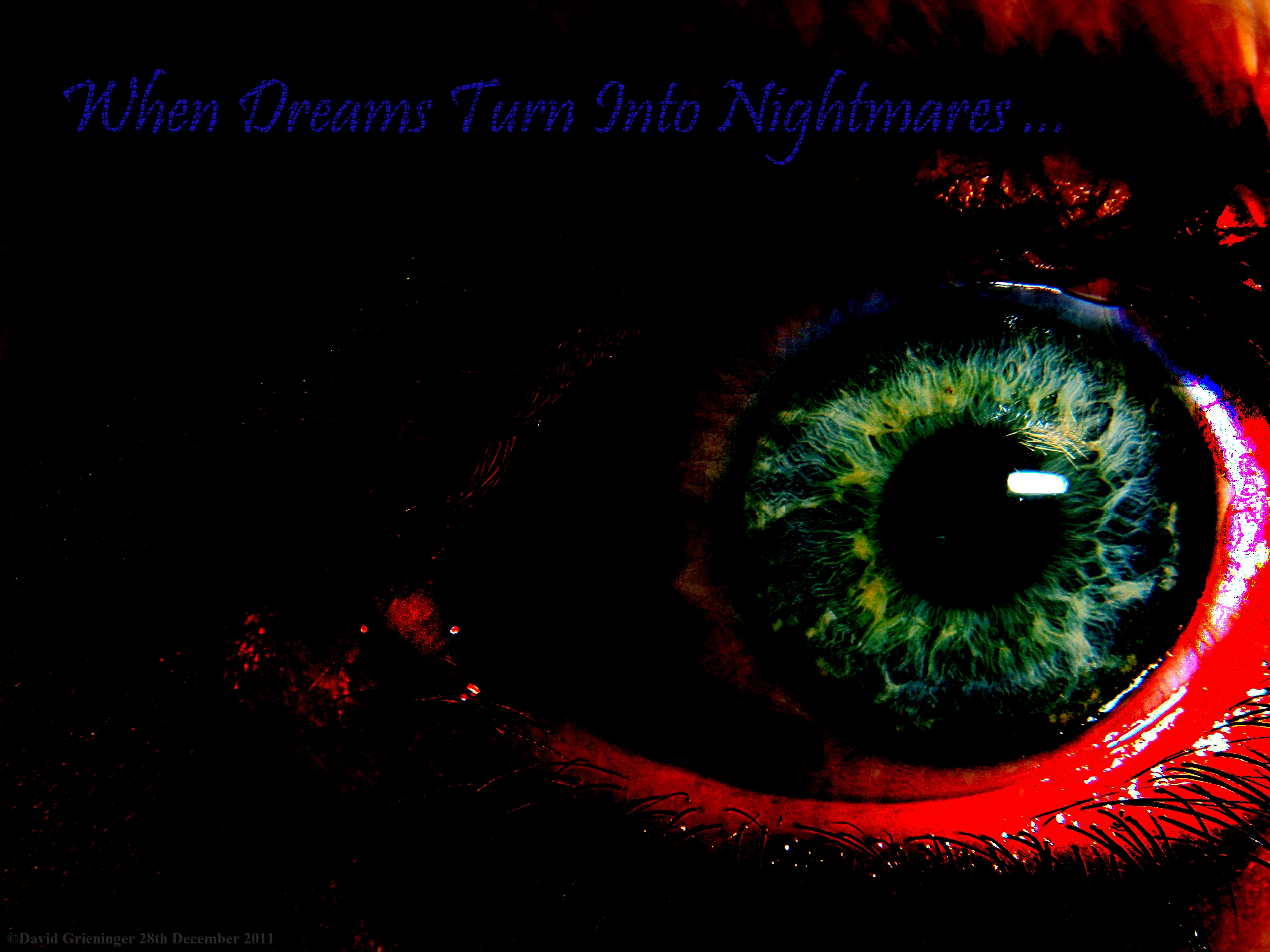 When Dreams turn into Nightmares wallpaper from Eyes wallpapers 3264x2448