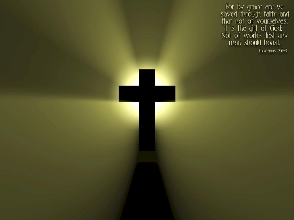 Christian Computer Wallpaper Shine Cross 1024x768