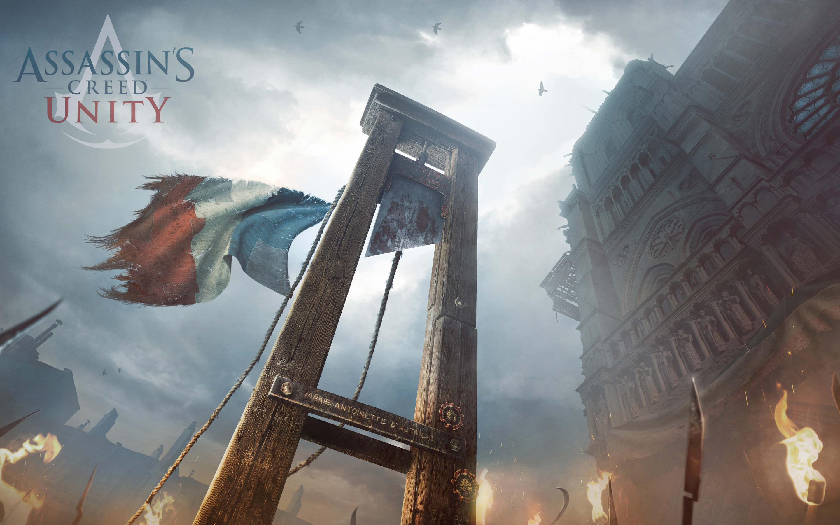 Assassins Creed Unity 2014 Wallpapers HD Wallpapers 2880x1800