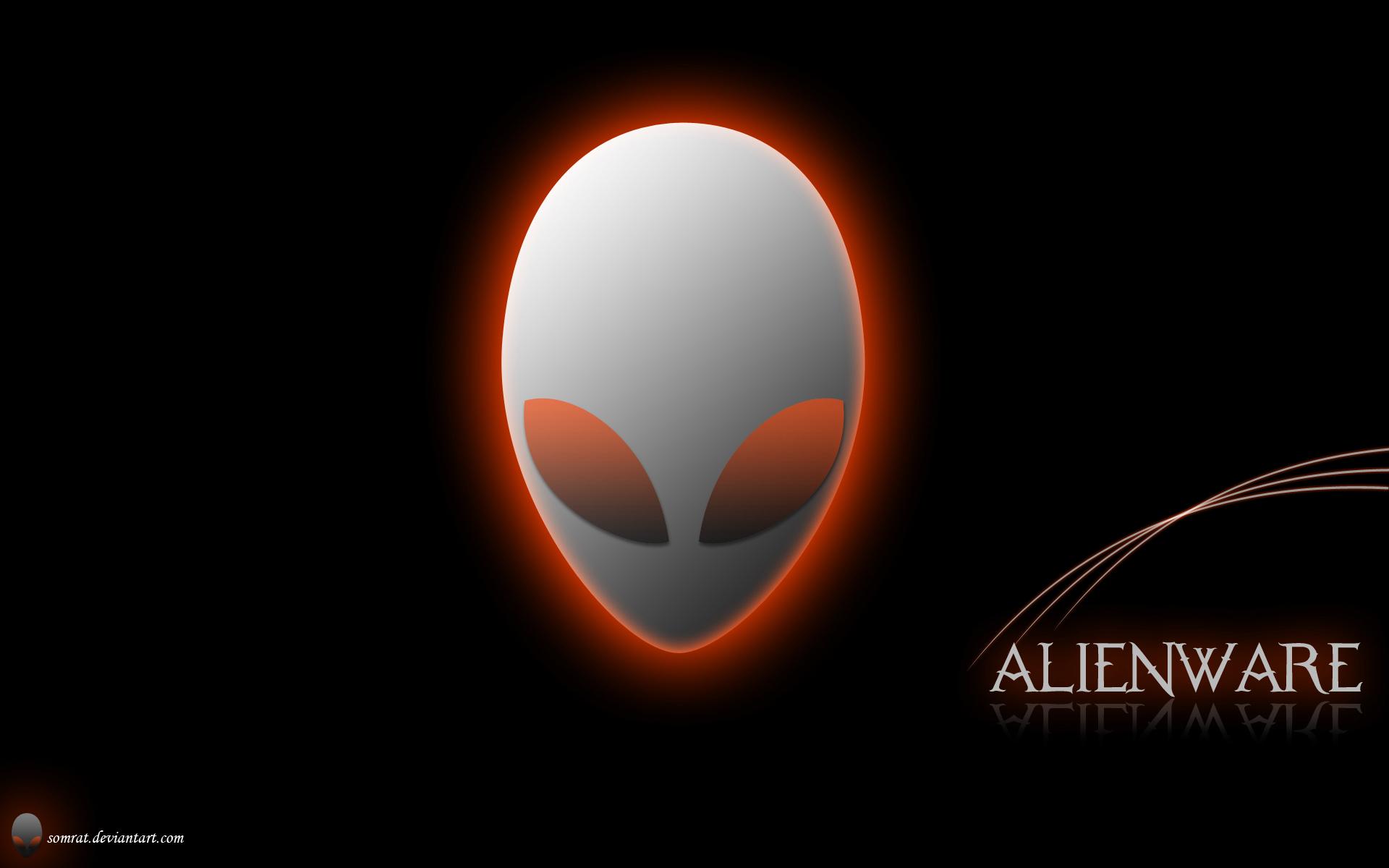 Alienware Orange Eyes Wallpapers Collection 15 Wallpapers