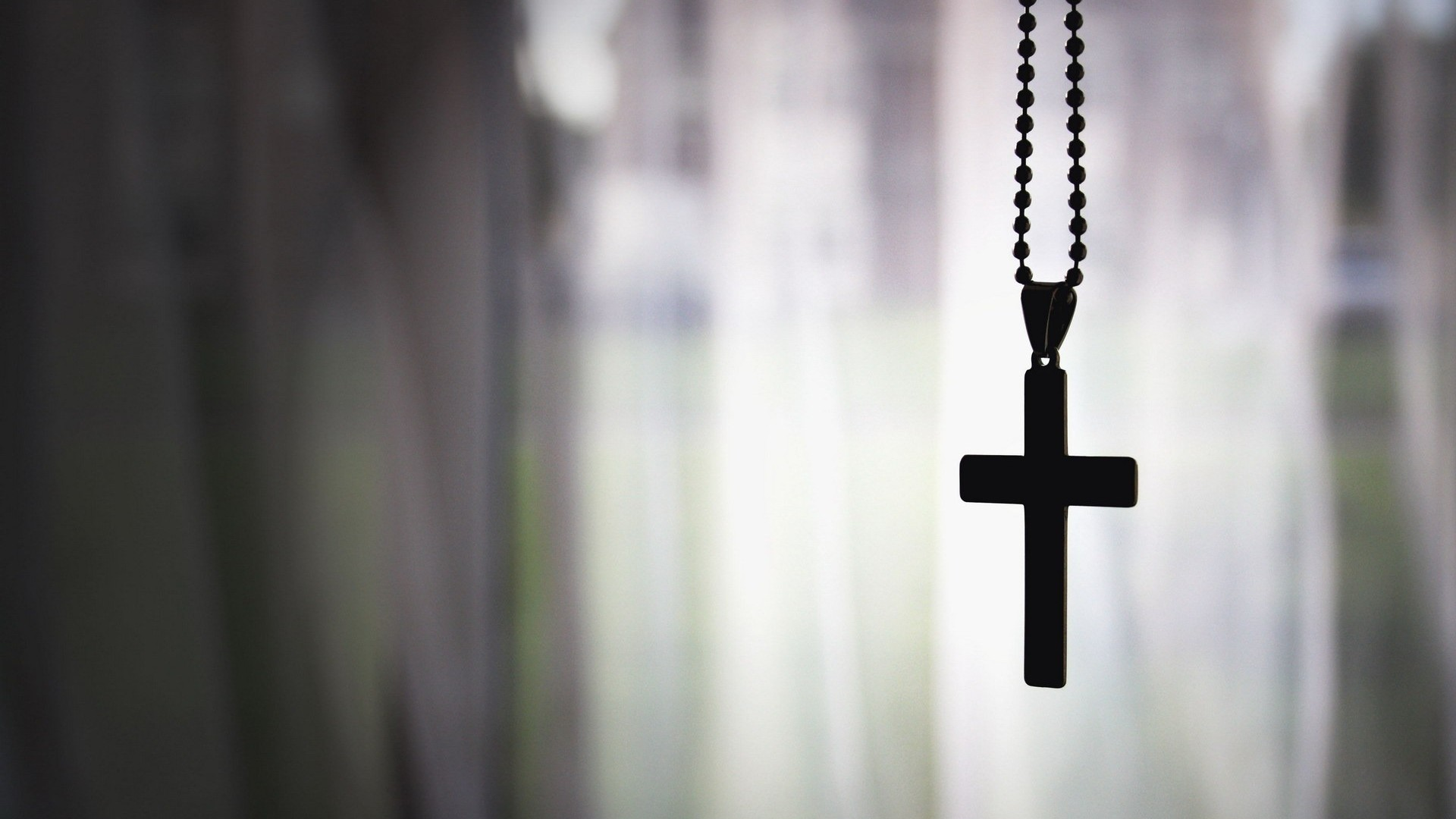 christian catholic chain window gothic Silhouette wallpaper background 1920x1080