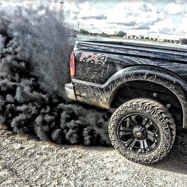 Ford Powerstroke Rollin Coal Wallpaper images 620x620