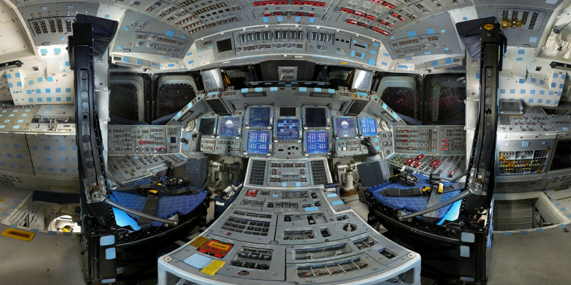 space shuttle launch cockpit view hd - photo #28