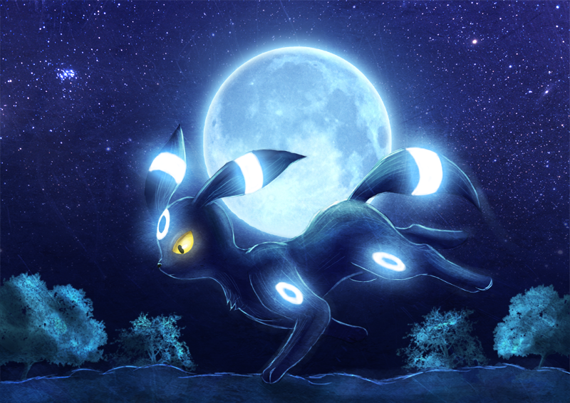 Umbreon by Deruuyo 800x566